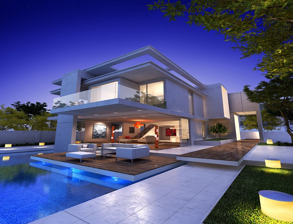 Dream House Exterior Mansions Spanish Style